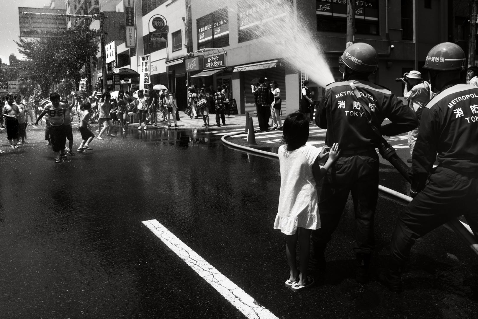 Gentes e Locais/Festa da água - Tóquio