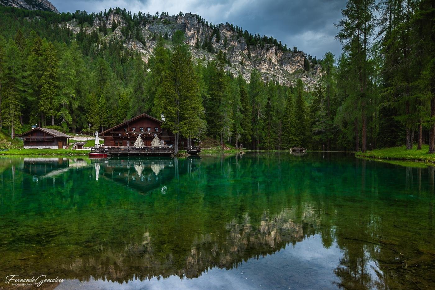 Paisagem Natural/Lago Ghedina