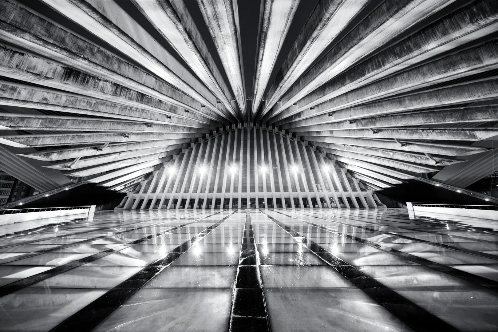 Arquitetura/Calatrava em noite de chuva