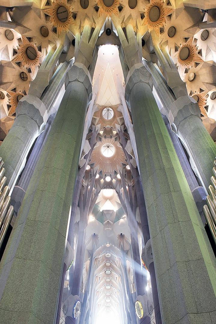 Arquitetura/luz divina