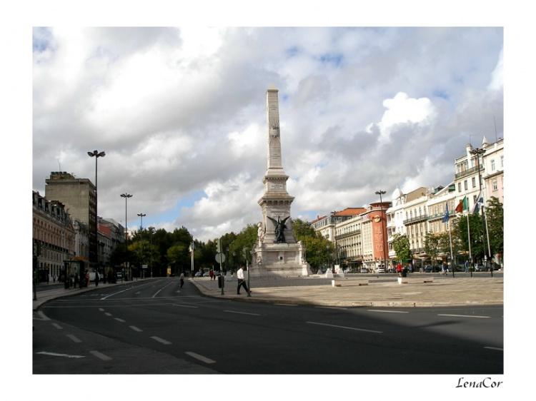 Paisagem Urbana/Lisboa - Pç dos Restauradores