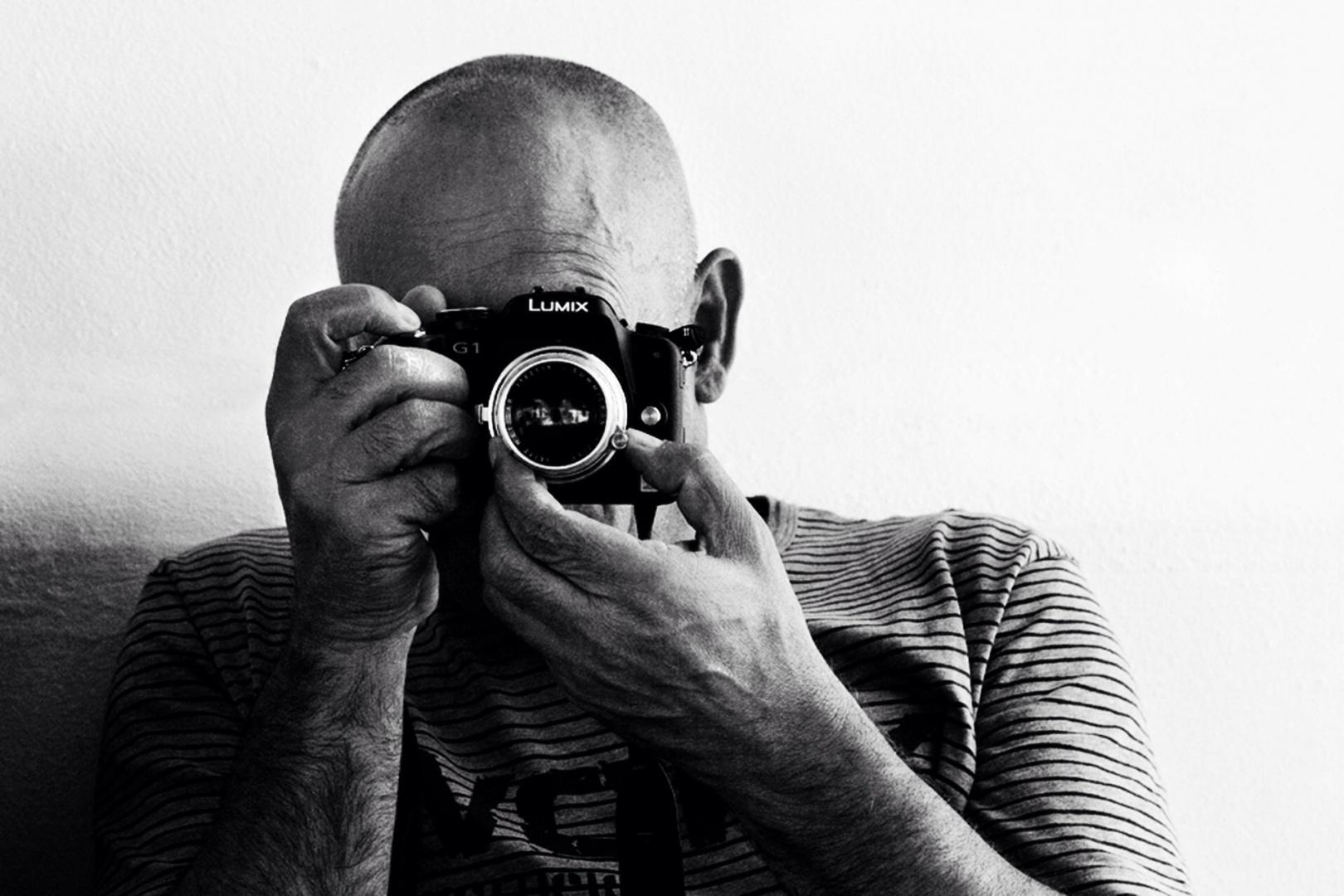 Retratos/Lumix g1 com Leica summicron 50