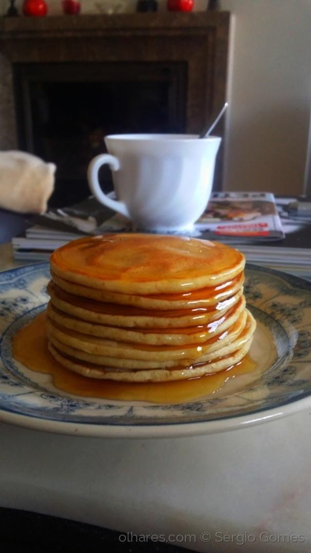 Gastronomia/Pequeno-almoço. Preguiça de Domingo.