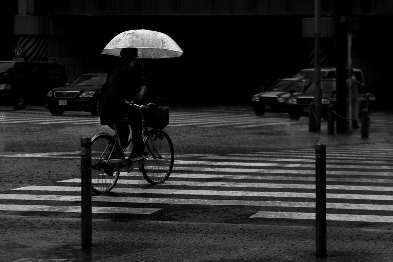 Gentes e Locais/Num dia de chuva em Tóquio