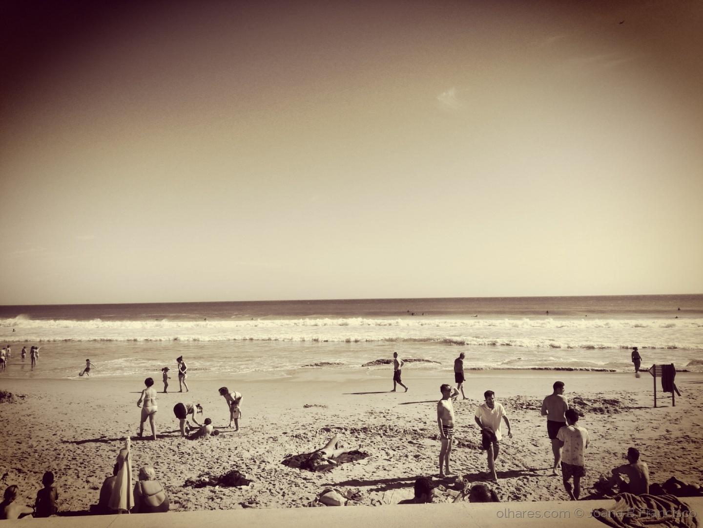 Abstrato/Mar de praia