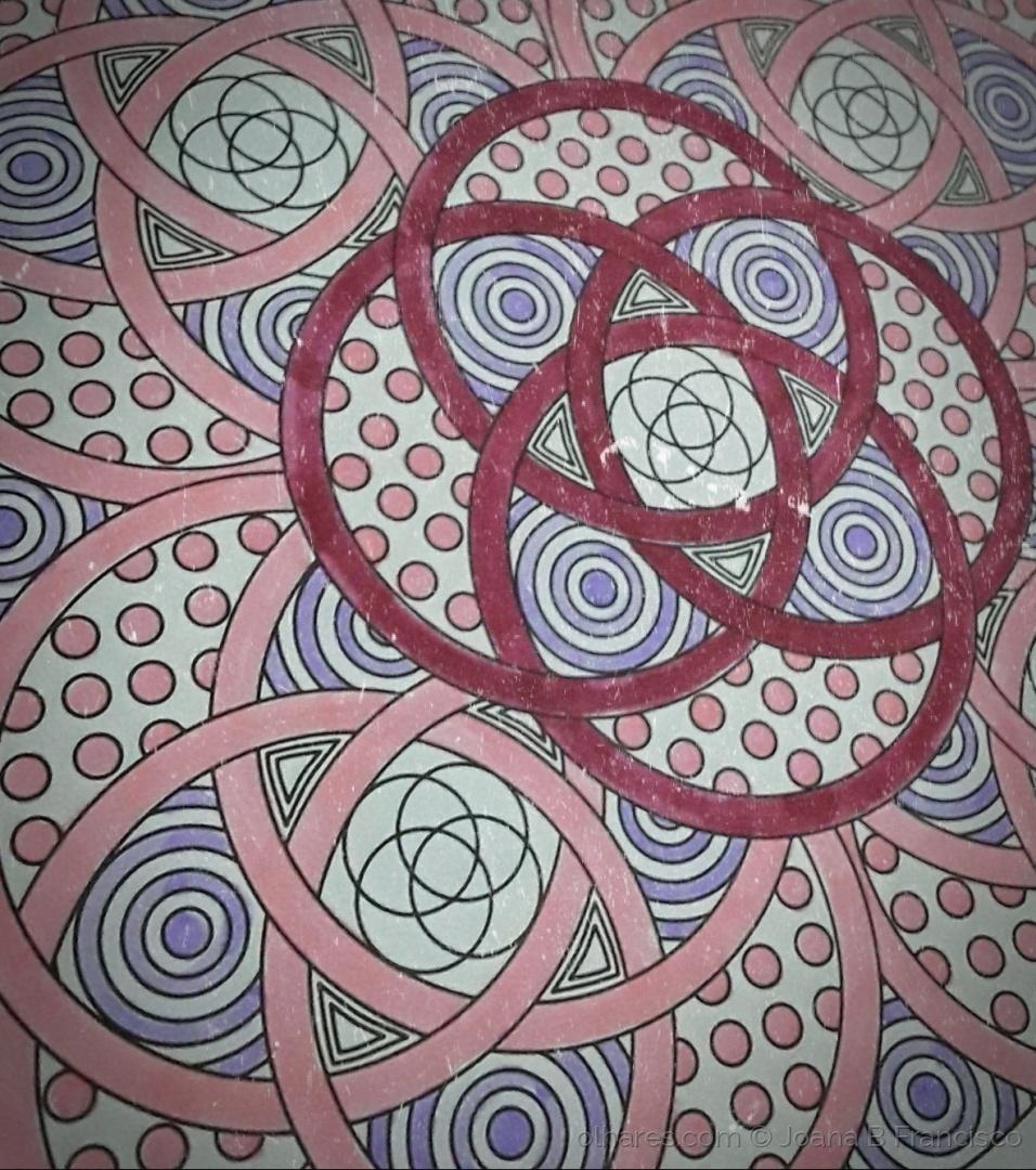 Abstrato/Rosa padrão