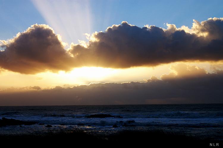 Paisagem Natural/O ultimo raio de sol...