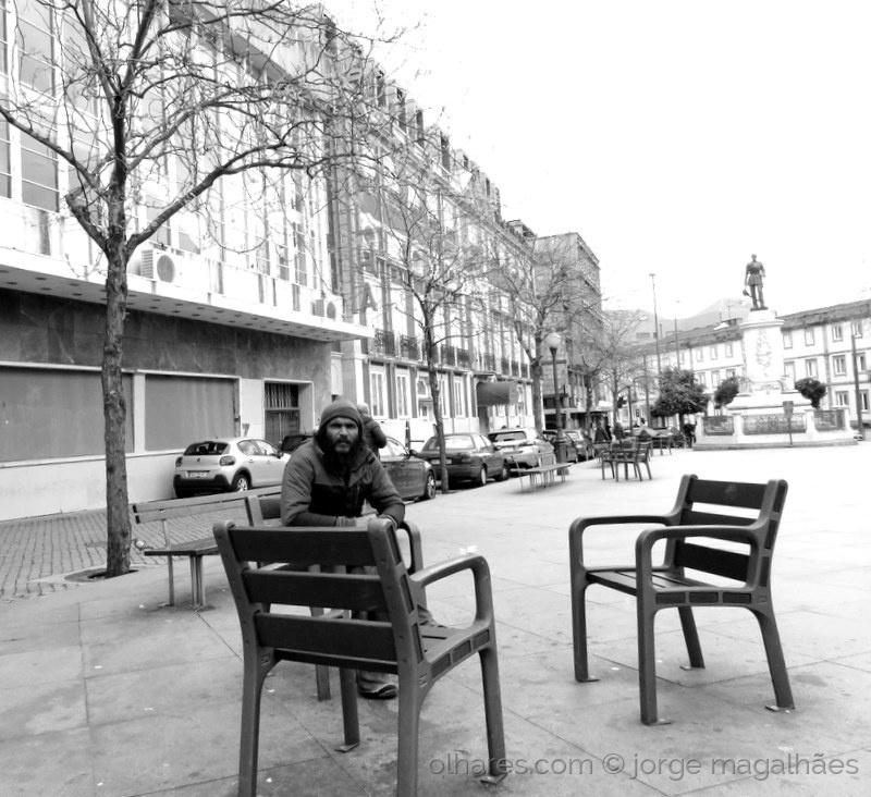 Fotojornalismo/Um homem só  (ler)
