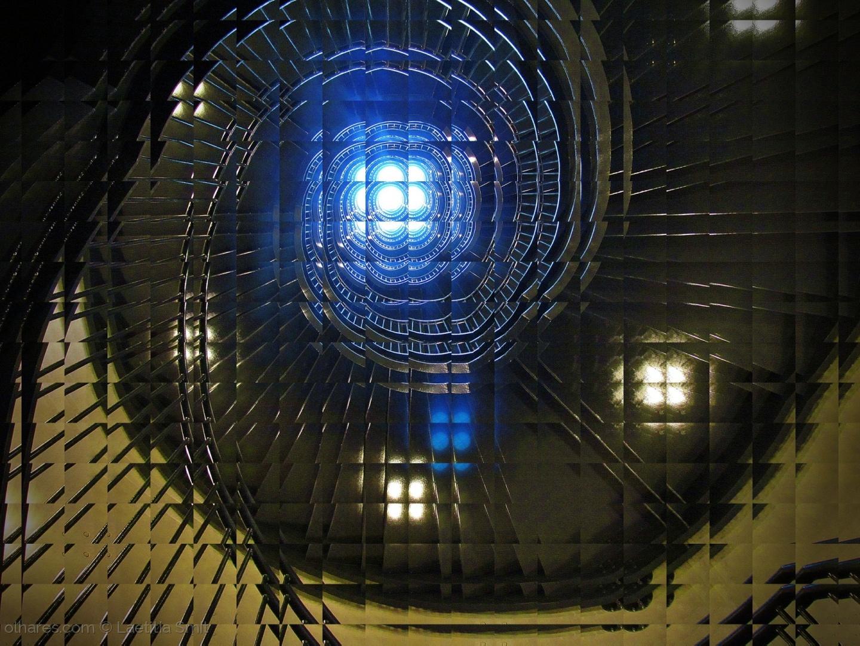 Abstrato/through a glass window...