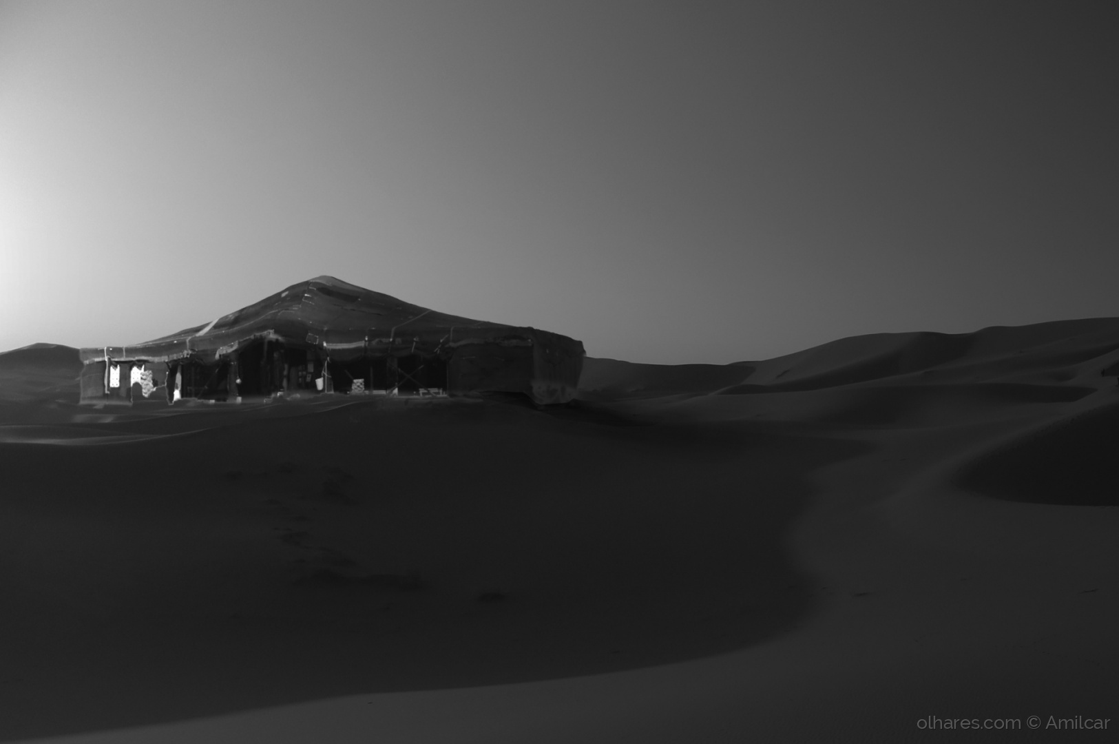 Arte Digital/Deserto do Saara (Composição)