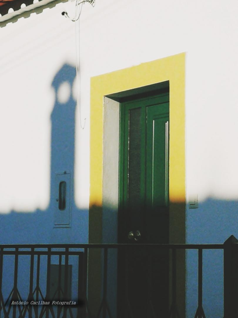 Abstrato/Sombra há porta