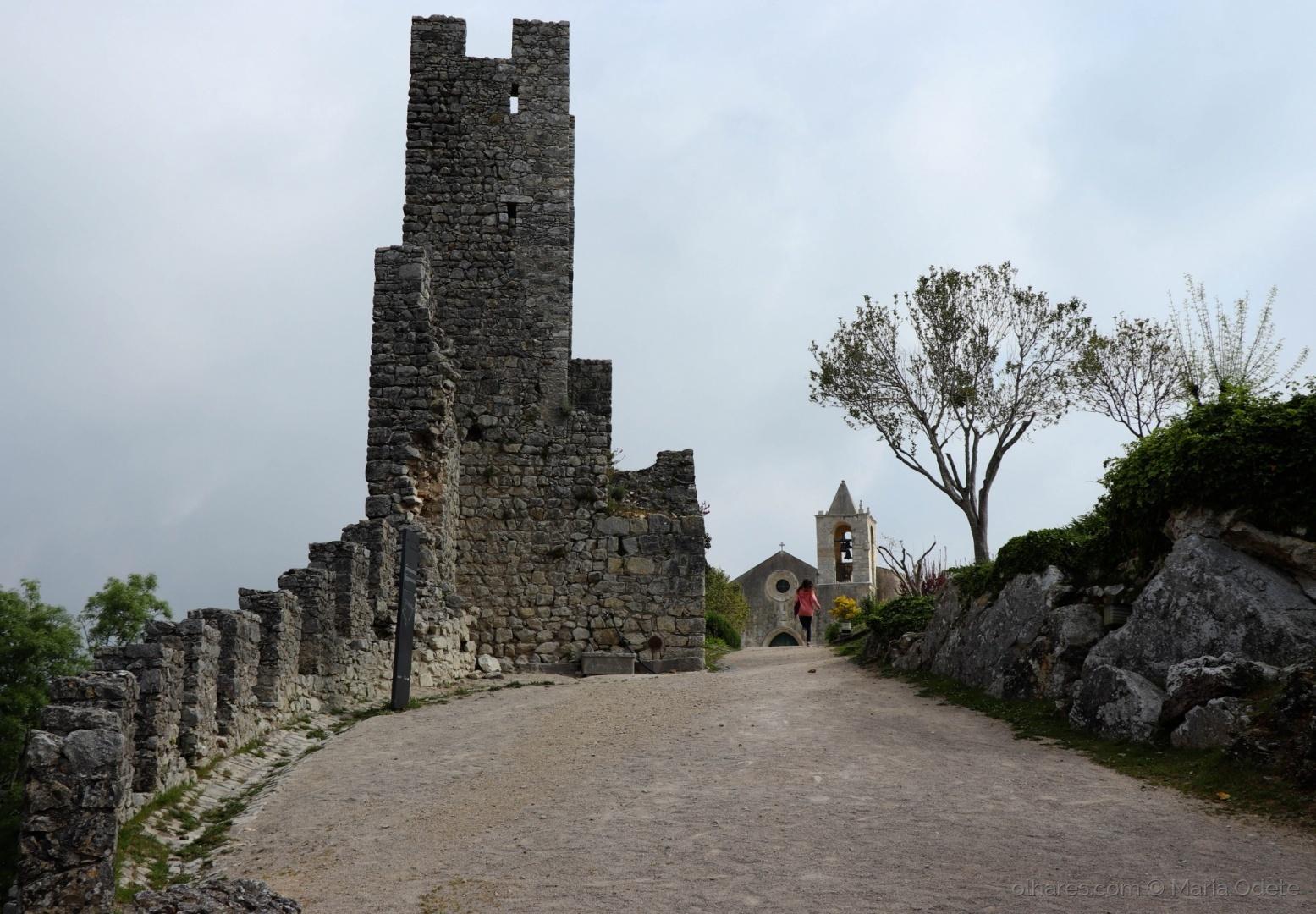 História/O Castelo em dia de chuva...