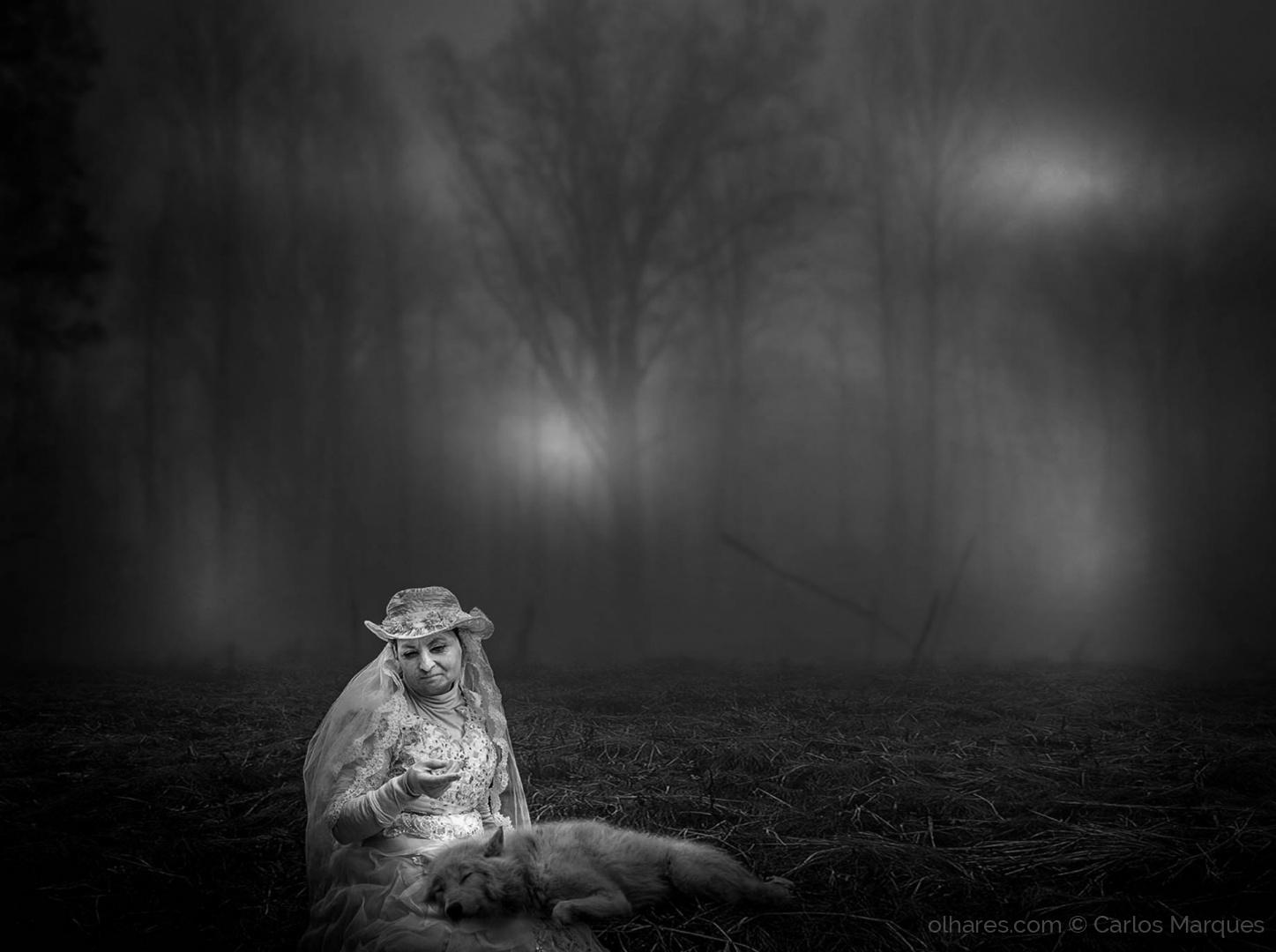 Arte Digital/White Wolf Spirit