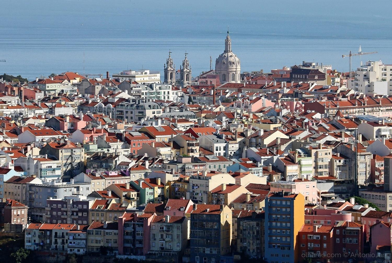 Paisagem Urbana/Postal de Lisboa - 1