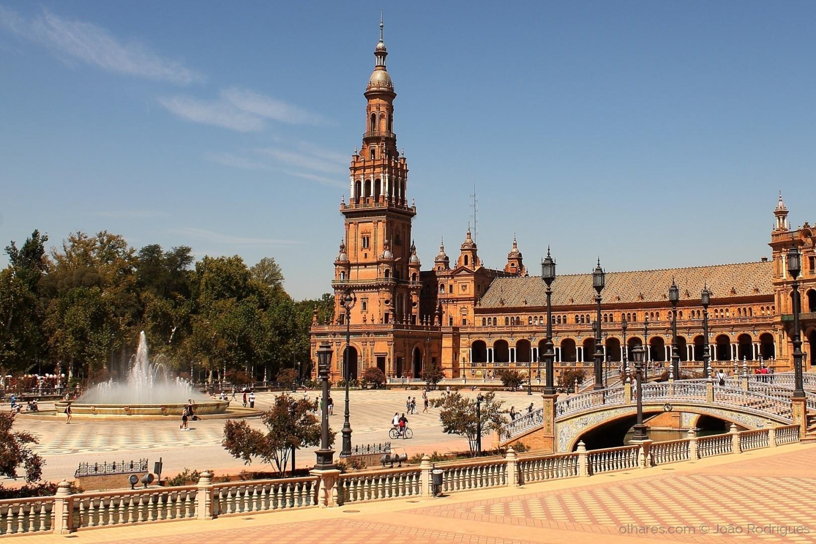 Arquitetura/Plaza de España, Sevilla.