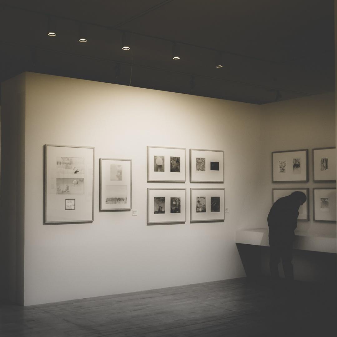 Retratos/Visita às obras do Mestre...