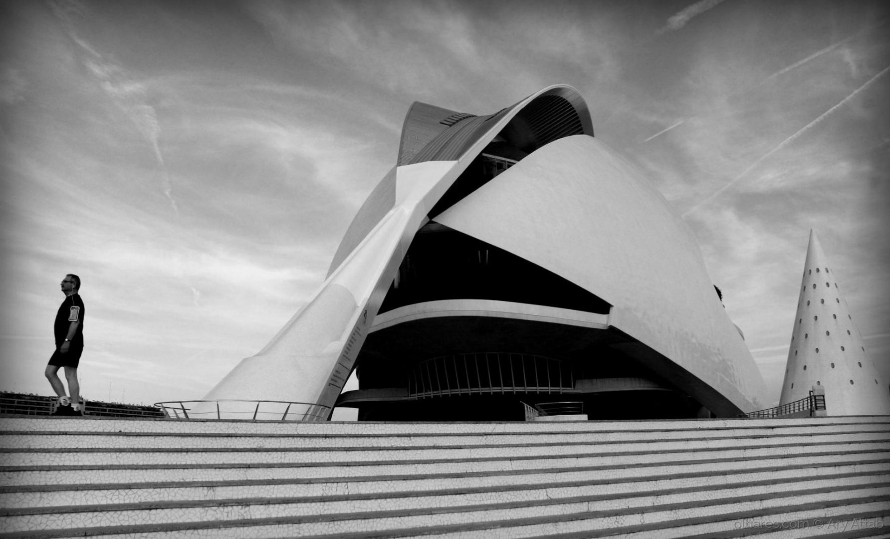 Paisagem Urbana/Cidade das Artes e das Ciências