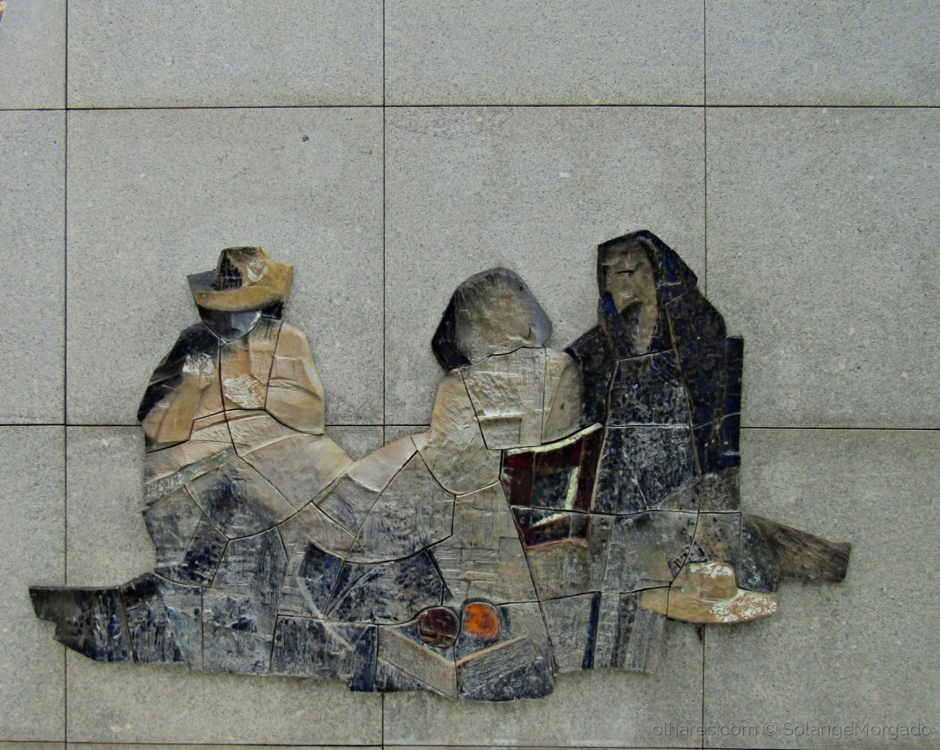Arquitetura/Ás bordadeiras de Tapetes de Arraiolos