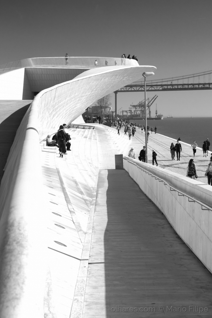 Arquitetura/the people in the Lisbon Light