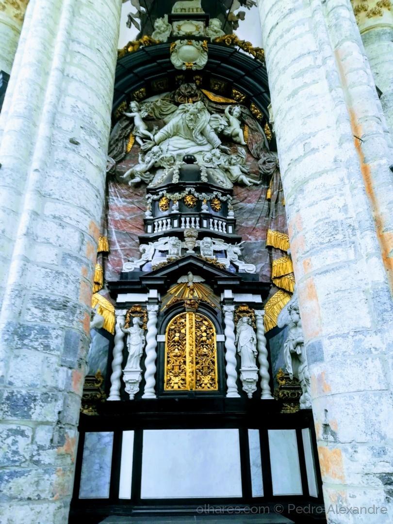 História/Catedral de São Bavão - Ghent