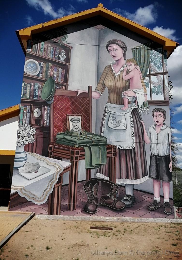 Paisagem Urbana/AMARGURAS DA GUERRA