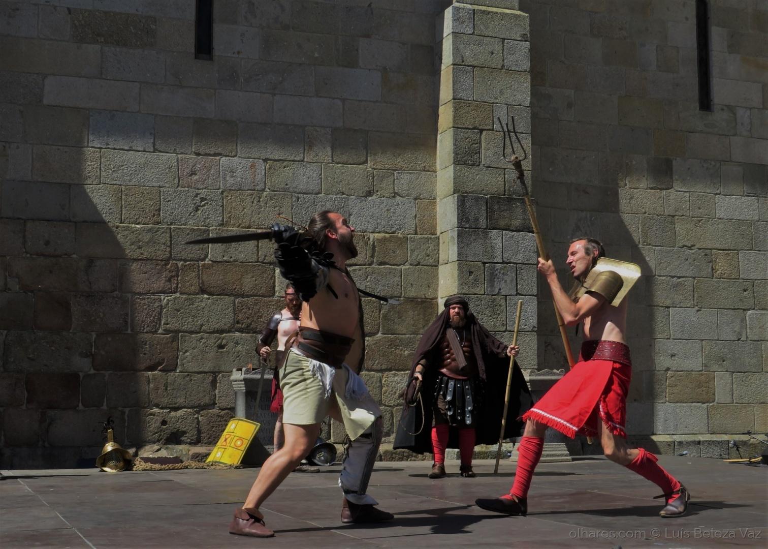 Espetáculos/Gladiadores