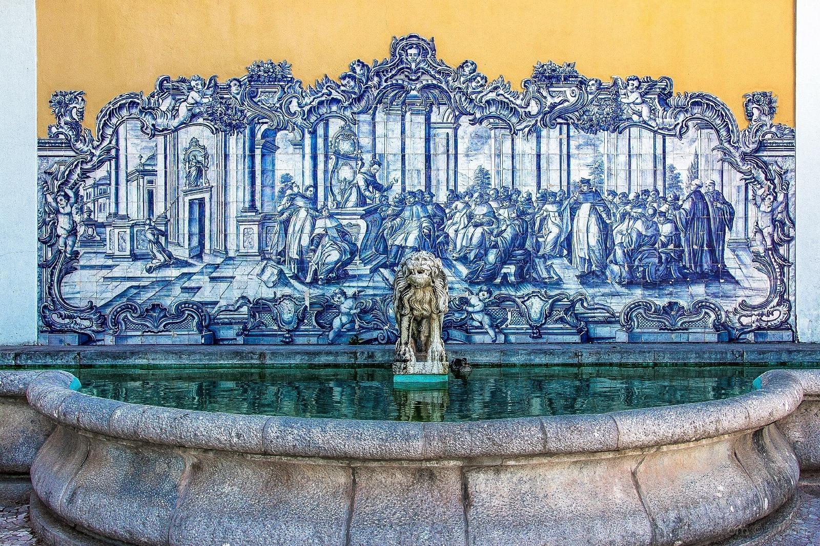 Arquitetura/Painel azulejos ( Cascais )