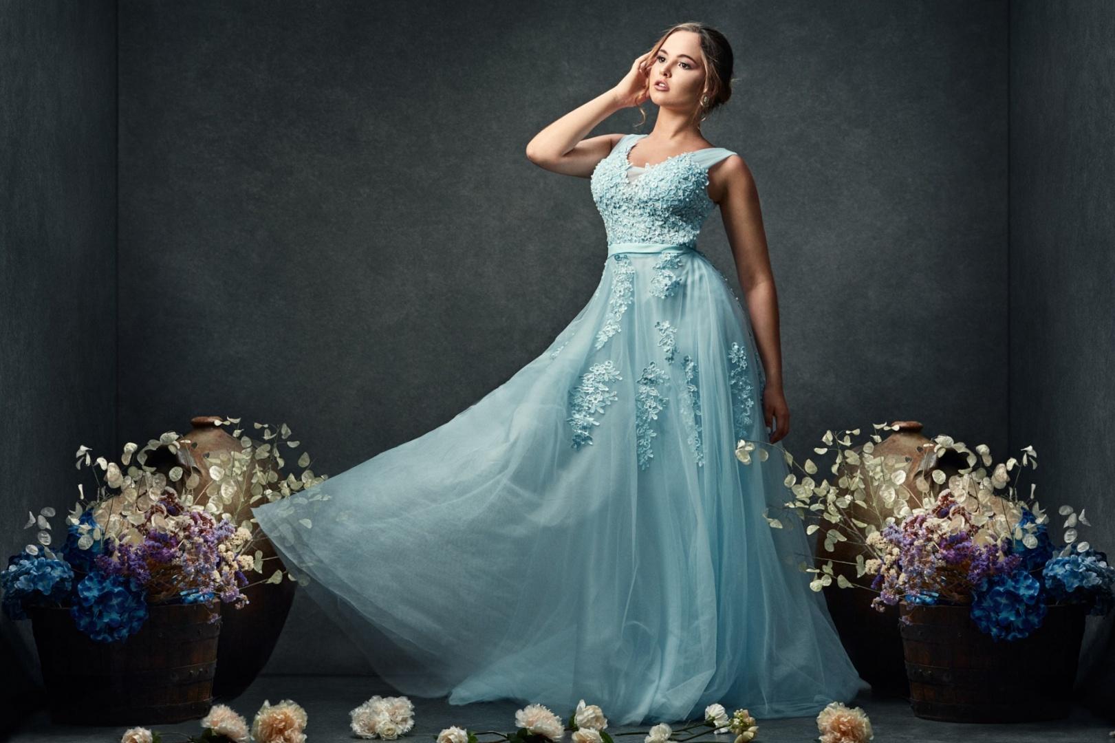 Retratos/My blue Dress