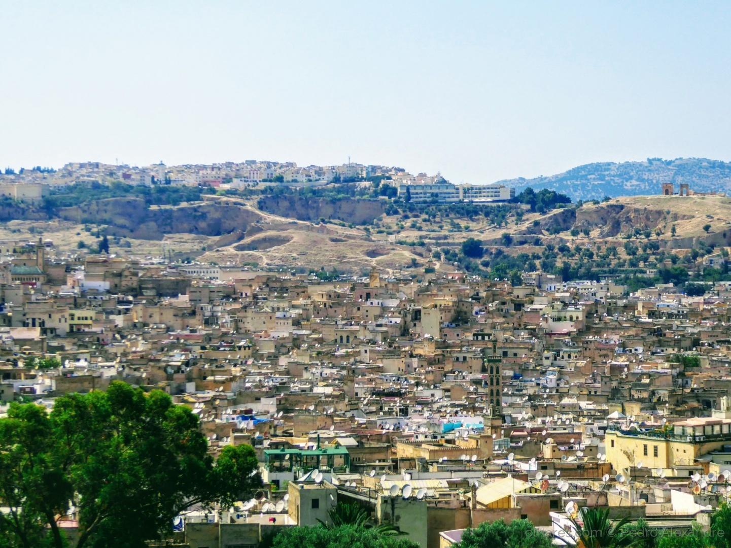 Paisagem Urbana/Vista panorâmica de Fez