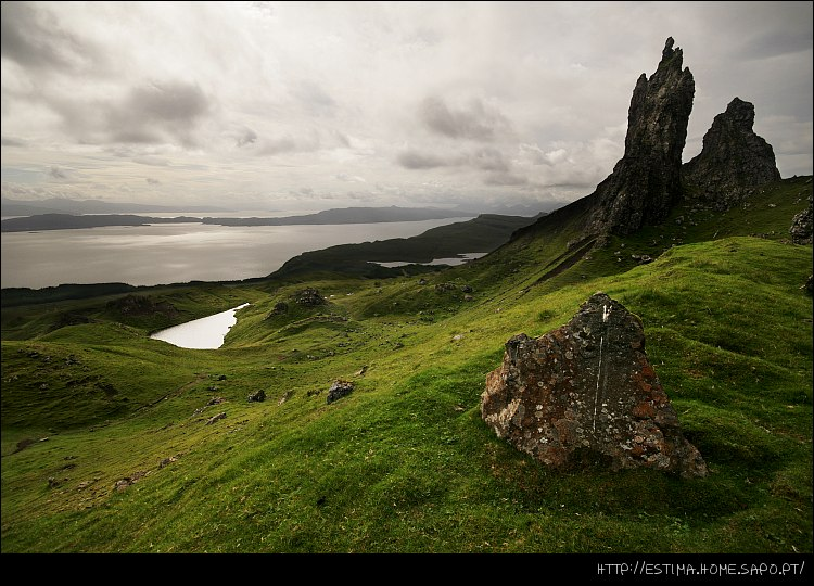 Paisagem Natural/The Old Man of Storr - Ilha de Skye