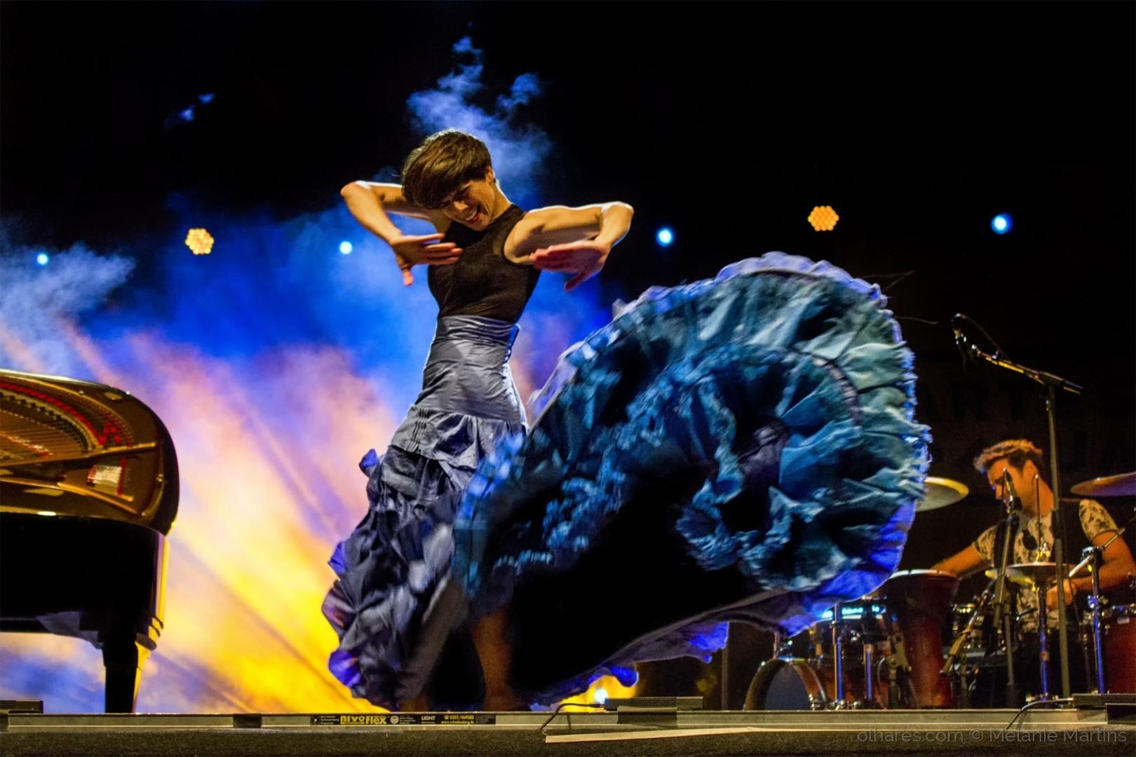 Espetáculos/a dançarina de flamenco