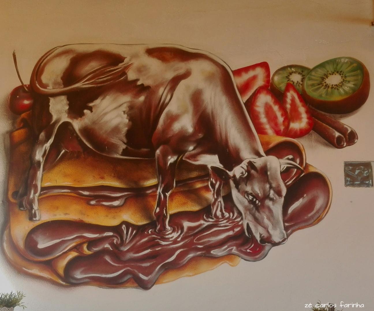 Gentes e Locais/A vaca que adorava chocolate!