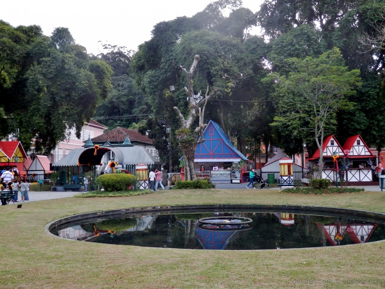 Paisagem Urbana/Jardim Palácio de Cristal - Petrópolis