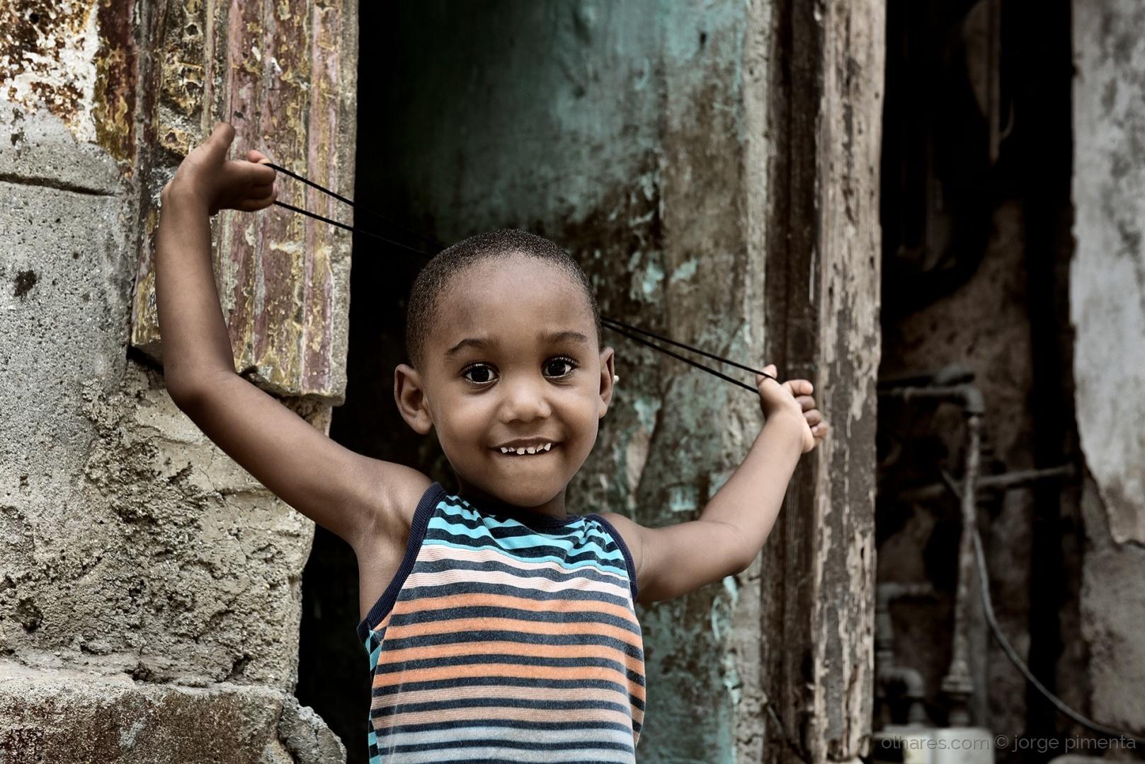 Retratos/Havana: bolas e berlindes