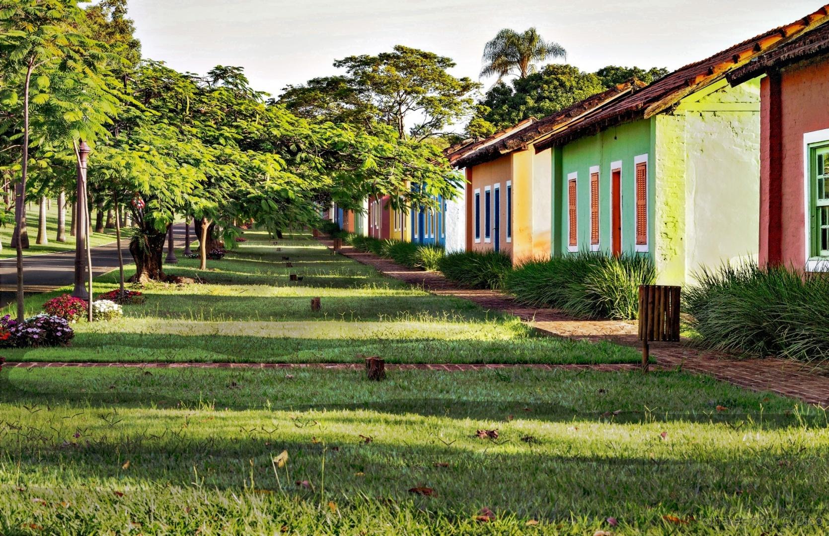 Paisagem Urbana/Uma vila