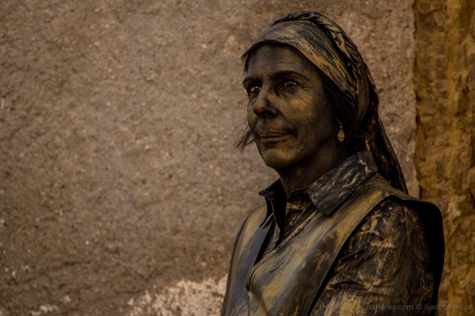 Retratos/Estátua Humana em Coimbra
