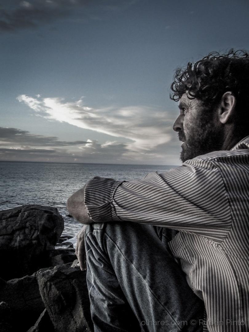 Retratos/Contemplação do horizonte