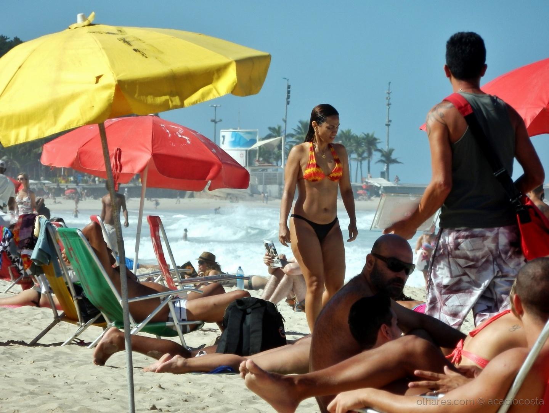 Paisagem Urbana/à procura da toalha -  Ipanema