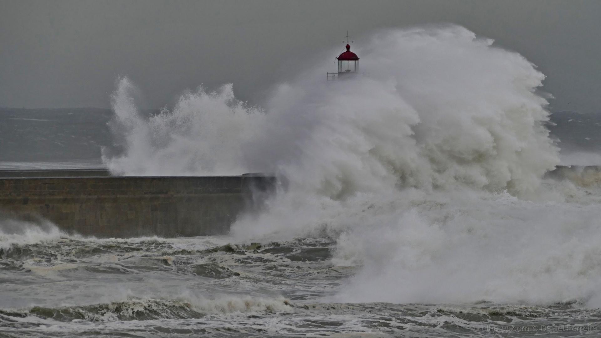 Paisagem Natural/A fúria do mar