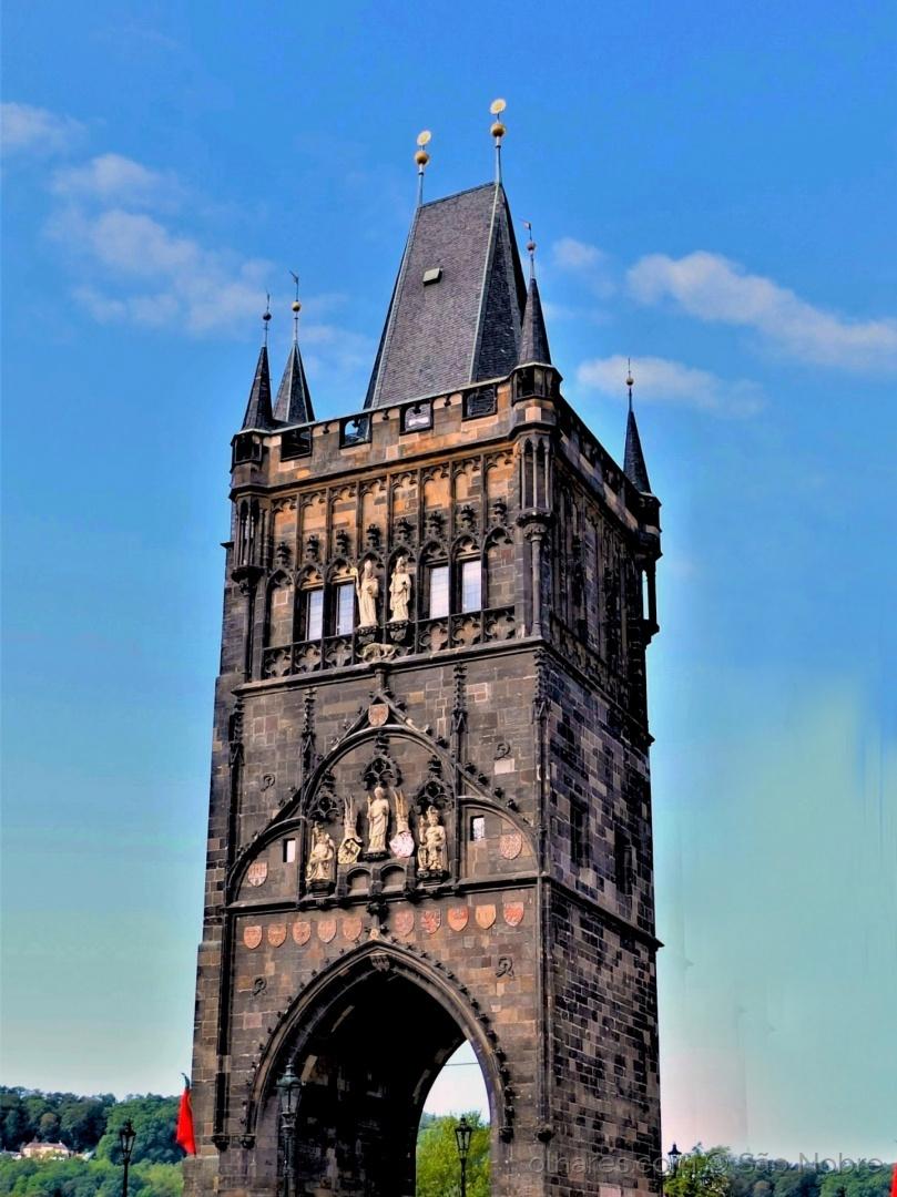 Arquitetura/Torre da Ponte Carlos