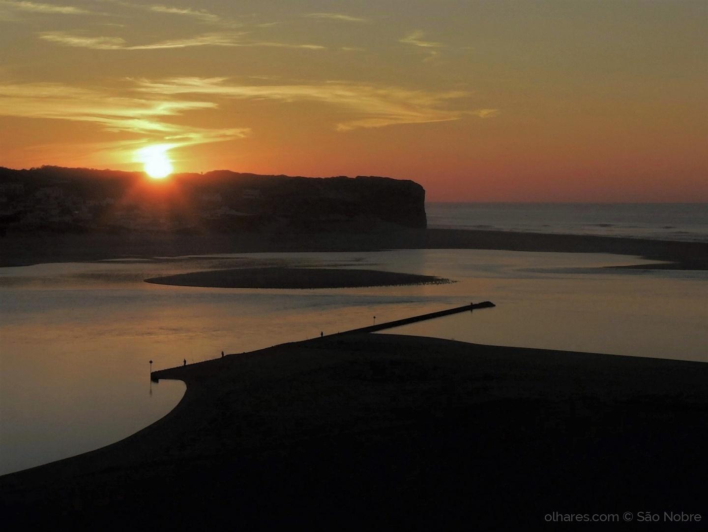 Paisagem Natural/O  Gronho  ao Pôr do Sol