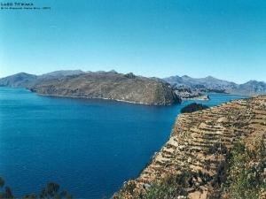 Paisagem Natural/Lago Titicaca - Bolívia - Ilha do Sol