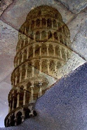 /A torre no chão