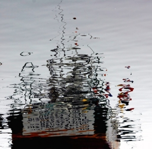 Abstrato/Reflexos de um barco