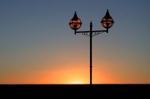 Paisagem Urbana/Por do sol