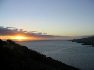 /Por do sol(ilha do  Faial)