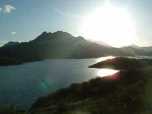 /Clarão no lago - Asturias