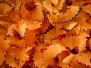 /outono de lápis