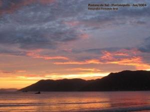 Paisagem Natural/Por do Sol em Florianópolis - 1