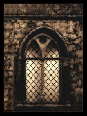 /Beneath the window...